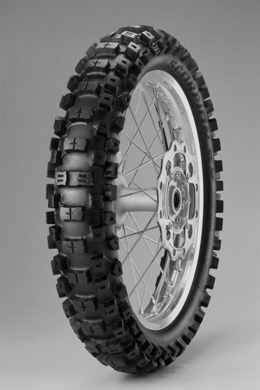pneu pirelli scorpion sx 125 80 19 63m pi ces partie cycle sur la b canerie. Black Bedroom Furniture Sets. Home Design Ideas