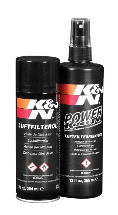 Kit nettoyant et huile filtre à air K&N