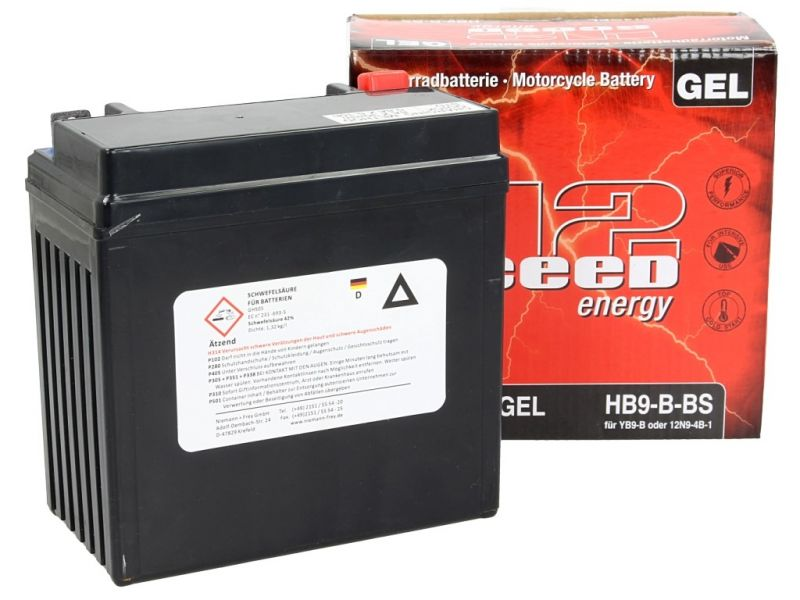 Batterie gel Sceed 42 HB9-B 12V 9Ah - 2