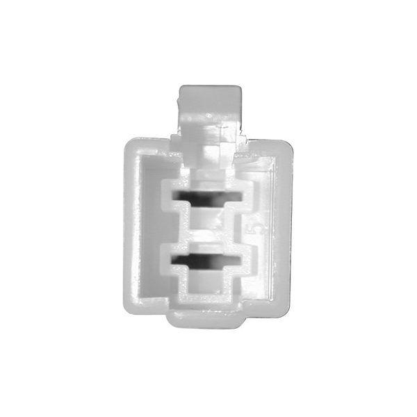 Connectique pour régulateur rectangulaire femelle à languettes -2 cosses mâles moyennes