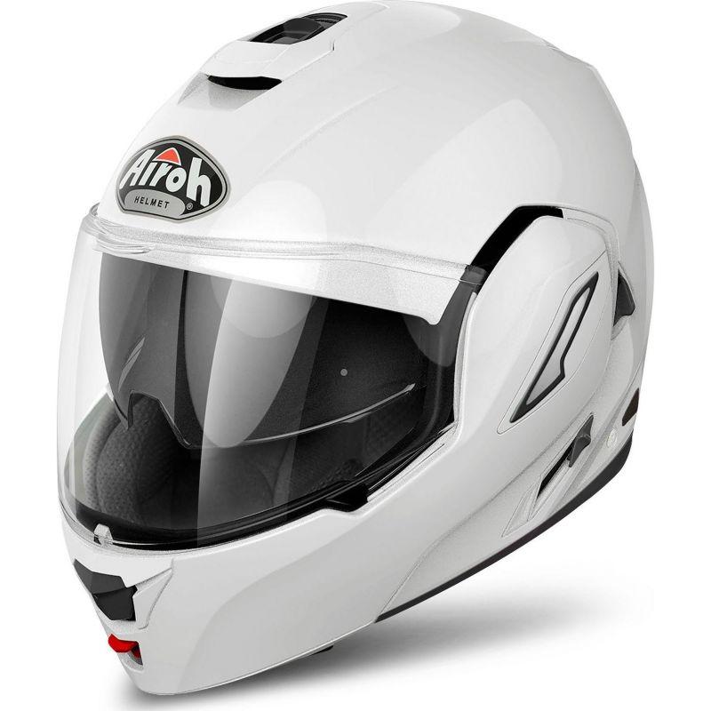 casque modulable airoh rev color blanc casques moto sur la b canerie. Black Bedroom Furniture Sets. Home Design Ideas