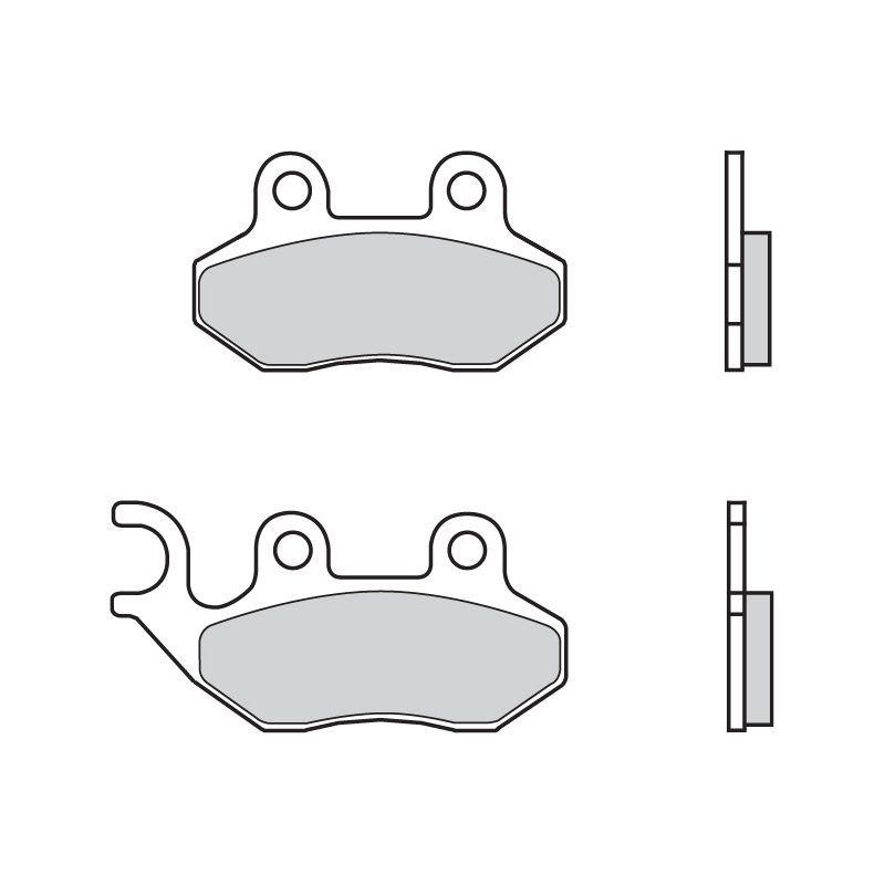 plaquettes de frein brembo 07005cc carbone c ramique avant pi ces freinage sur la b canerie. Black Bedroom Furniture Sets. Home Design Ideas