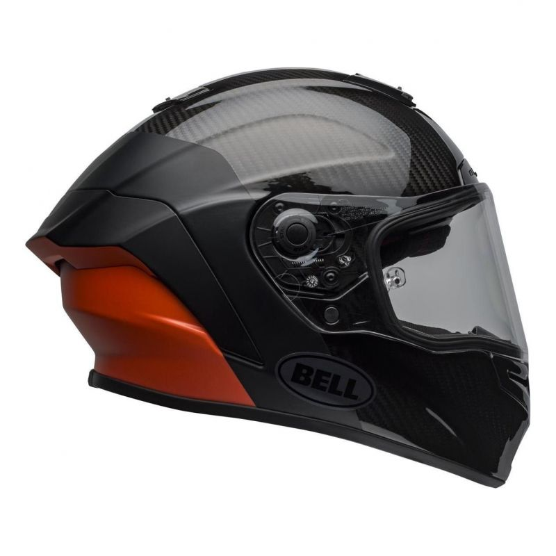 Casque intégral Bell Race Star Flex Surge noir/orange - 6