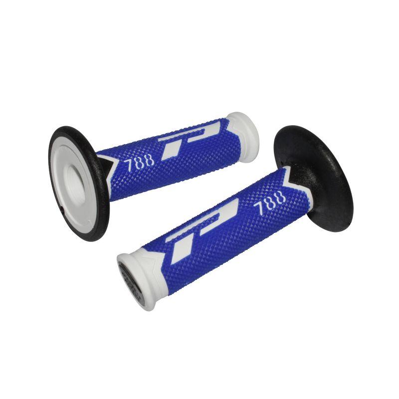 Revêtements de poignées 788 Progrip bleu/blanc/noir