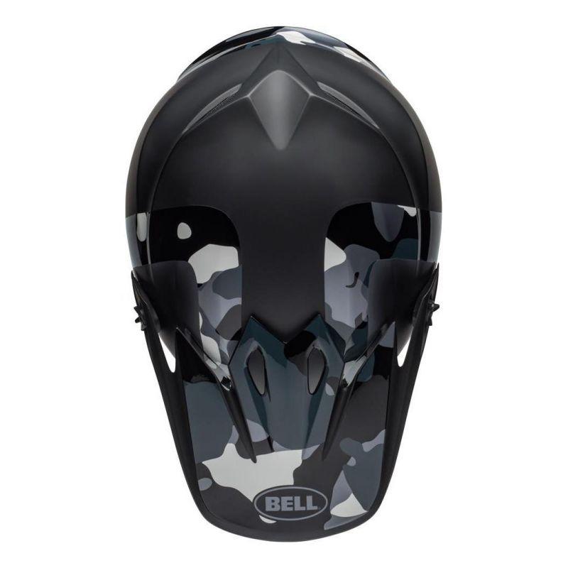 Casque cross Bell MX 9 Mips Presence Camo titanium/noir - 5