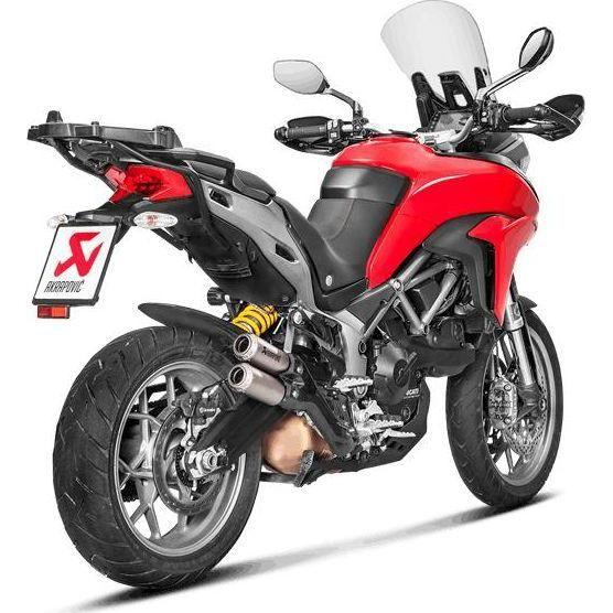 Double silencieux Akrapovic titane Ducati Multistrada 950 17-18
