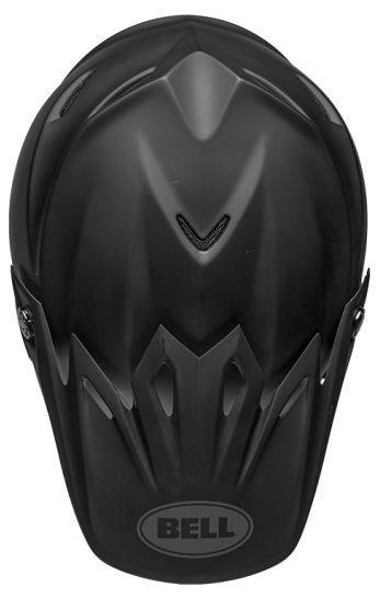 Casque cross Bell Moto 9 Mips Intake Matte noir - 6
