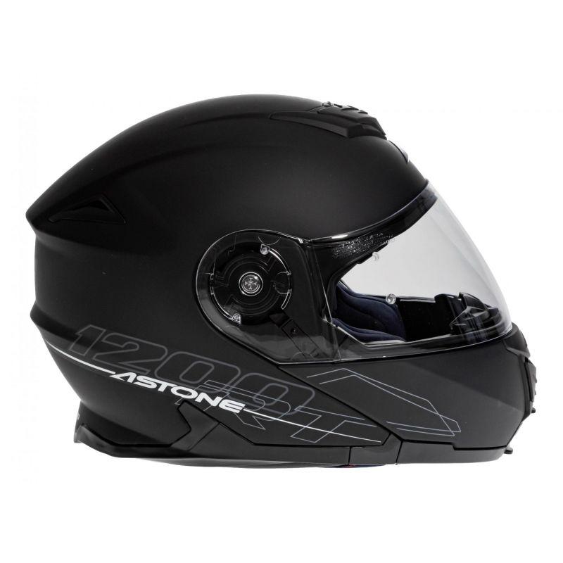 Casque Modulable Astone Rt 1200 Mono noir mat - 3