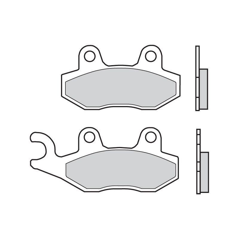 plaquettes de frein brembo 07076cc carbone c ramique avant pi ces freinage sur la b canerie. Black Bedroom Furniture Sets. Home Design Ideas