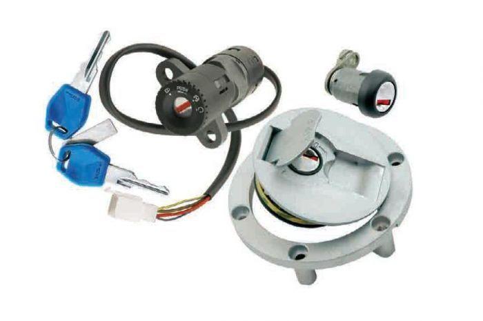 Schema Elettrico Yamaha Tzr 50 : Contacteur à clé neiman power tzr gt pièces