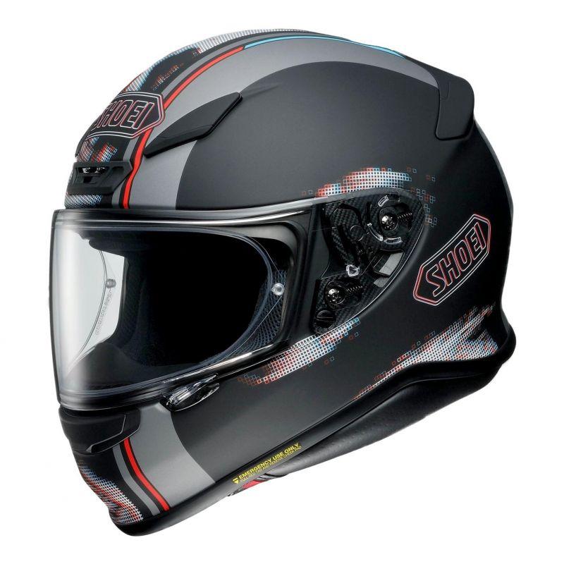 Casque intégral Shoei NXR Tale noir/gris/rouge