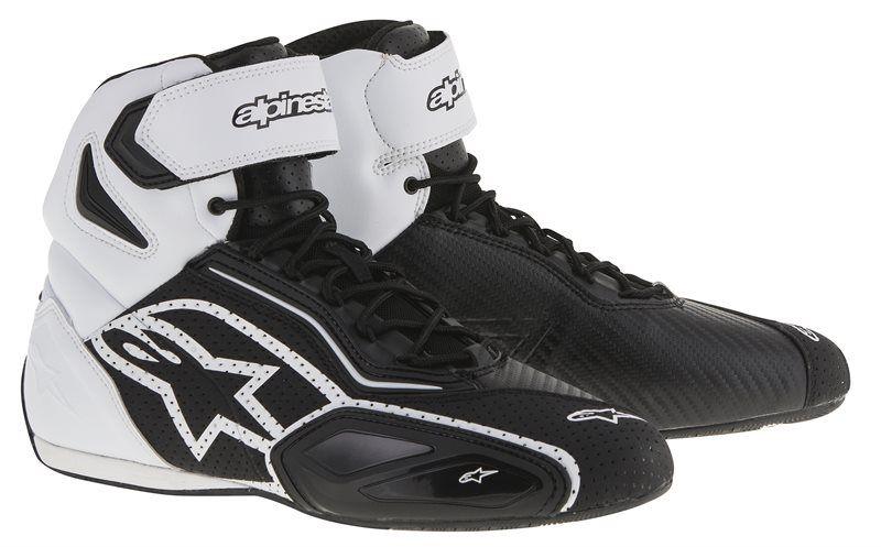 Baskets Alpinestars FASTER-2 VENTED noir/blanc