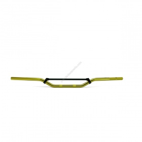 Guidon cross alu avec barre de renfort de 320mm