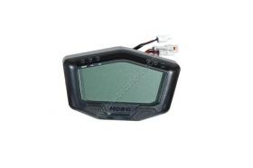 Compteur et compte tours koso digital racing multifonctions version 12v pour batterie
