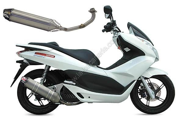 pots d 39 chappement honda pcx 125 echappement maxi scooter la b canerie. Black Bedroom Furniture Sets. Home Design Ideas