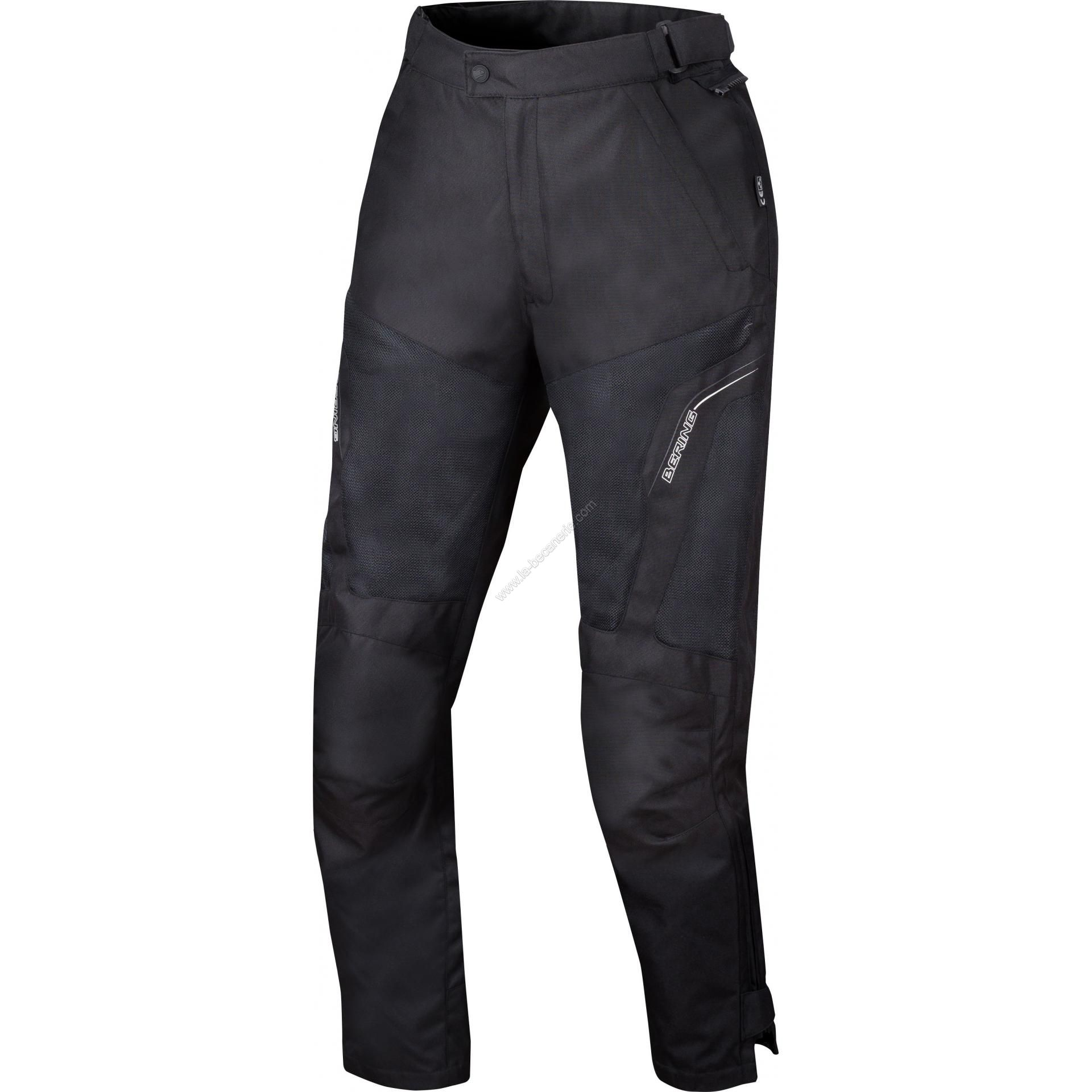 Cancun Lady Textile Noir Femme Équipement Bering Pantalon Route SqIwB7Tqn