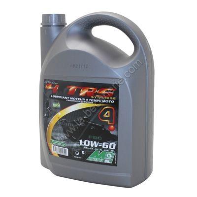 huile moteur 4t minerva moto trs 10w 60 5l lubrifiant sur la b canerie. Black Bedroom Furniture Sets. Home Design Ideas