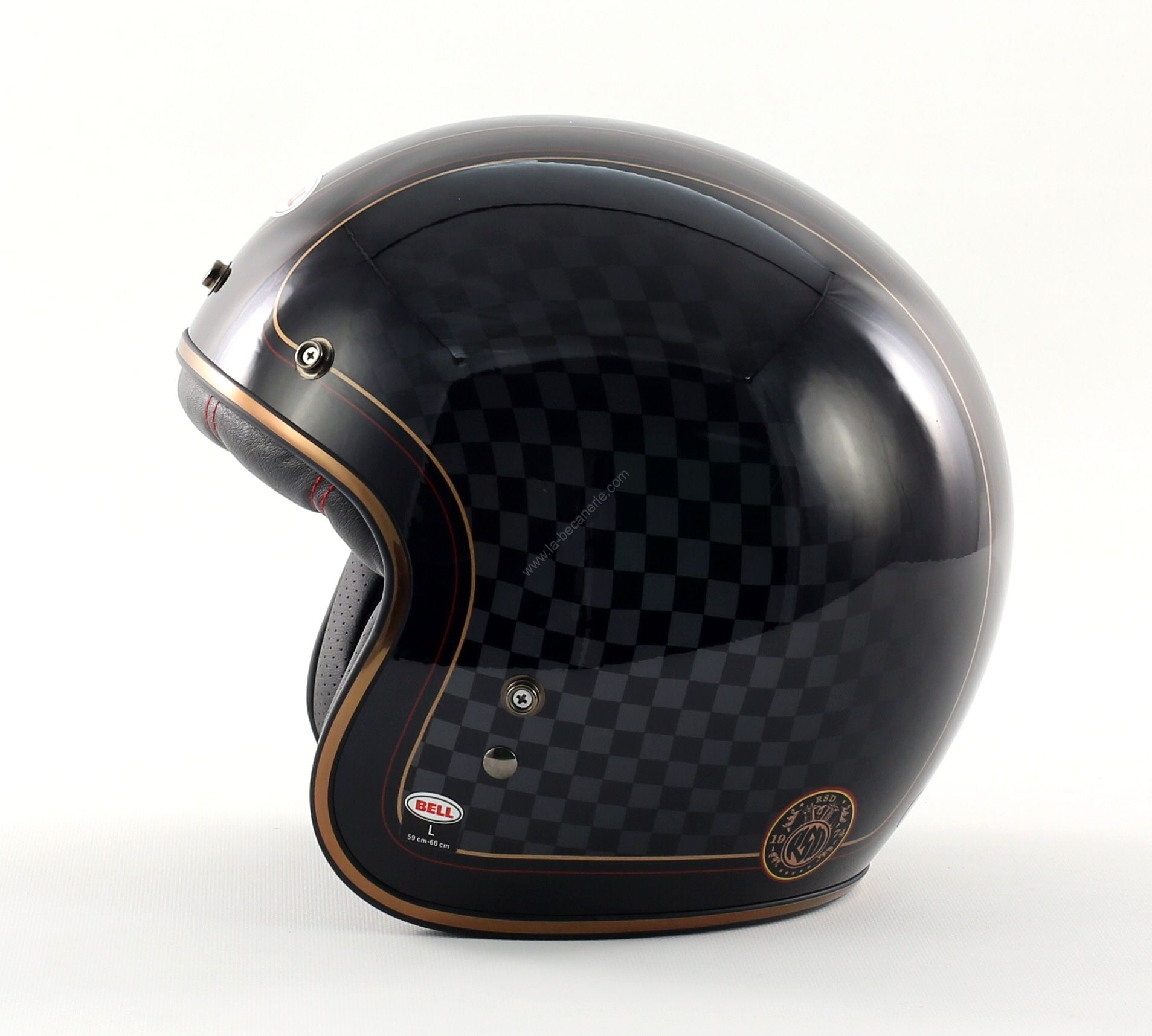 casque moto vintage bell casque moto custom. Black Bedroom Furniture Sets. Home Design Ideas