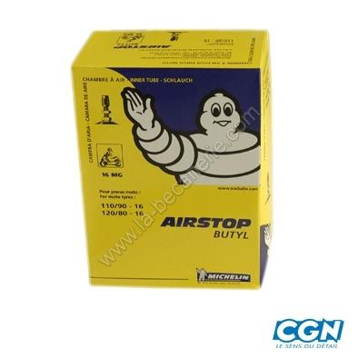 Chambre air 16 110 120 80x16 michelin for Chambre a air mobylette