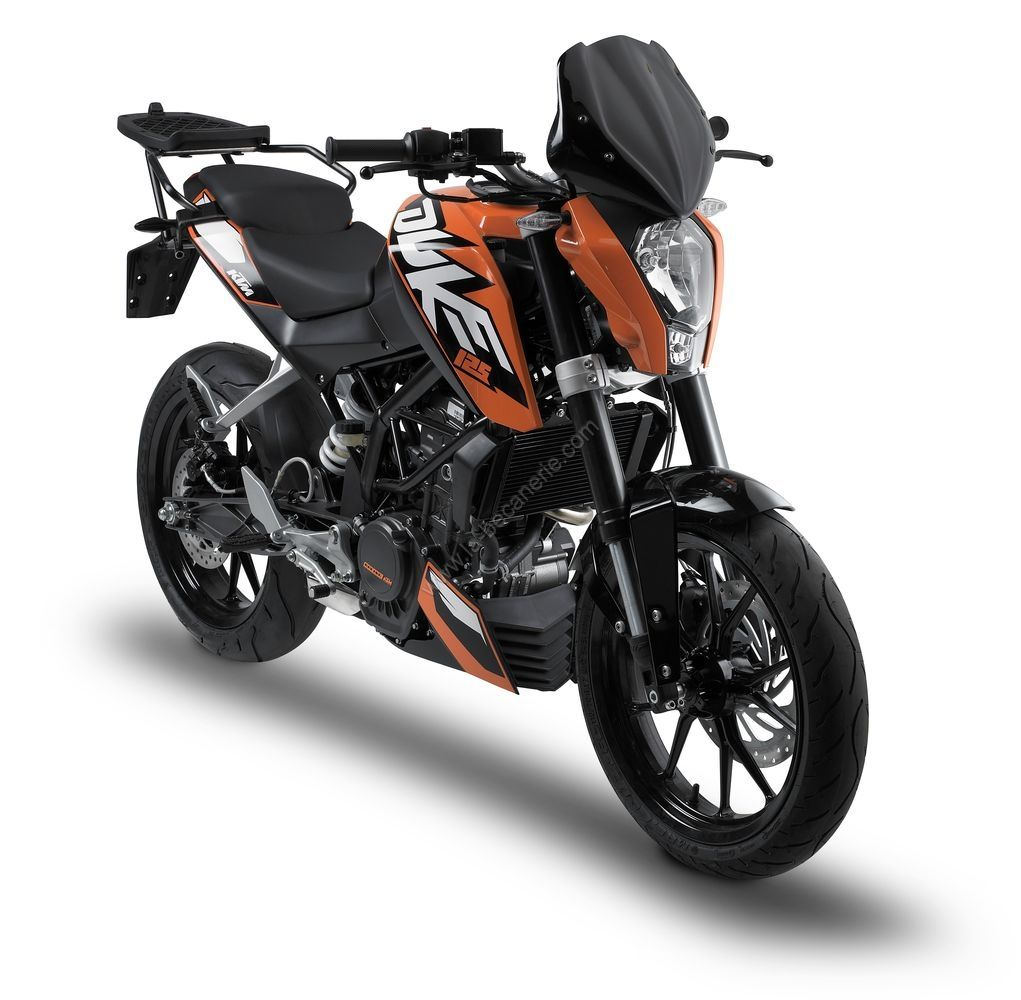 bulles ktm duke 125 car nage moto la b canerie. Black Bedroom Furniture Sets. Home Design Ideas