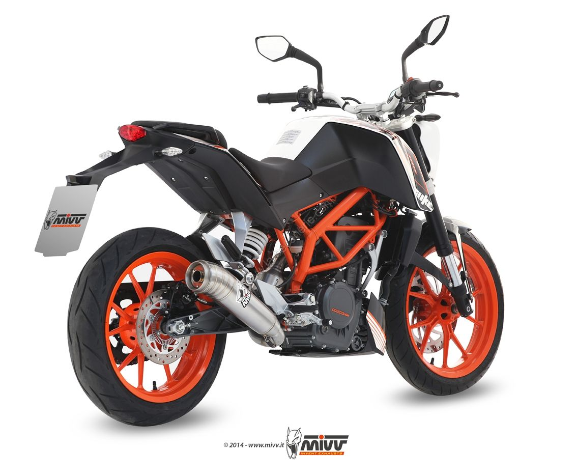 pots d 39 chappement ktm duke 125 echappement moto la b canerie. Black Bedroom Furniture Sets. Home Design Ideas