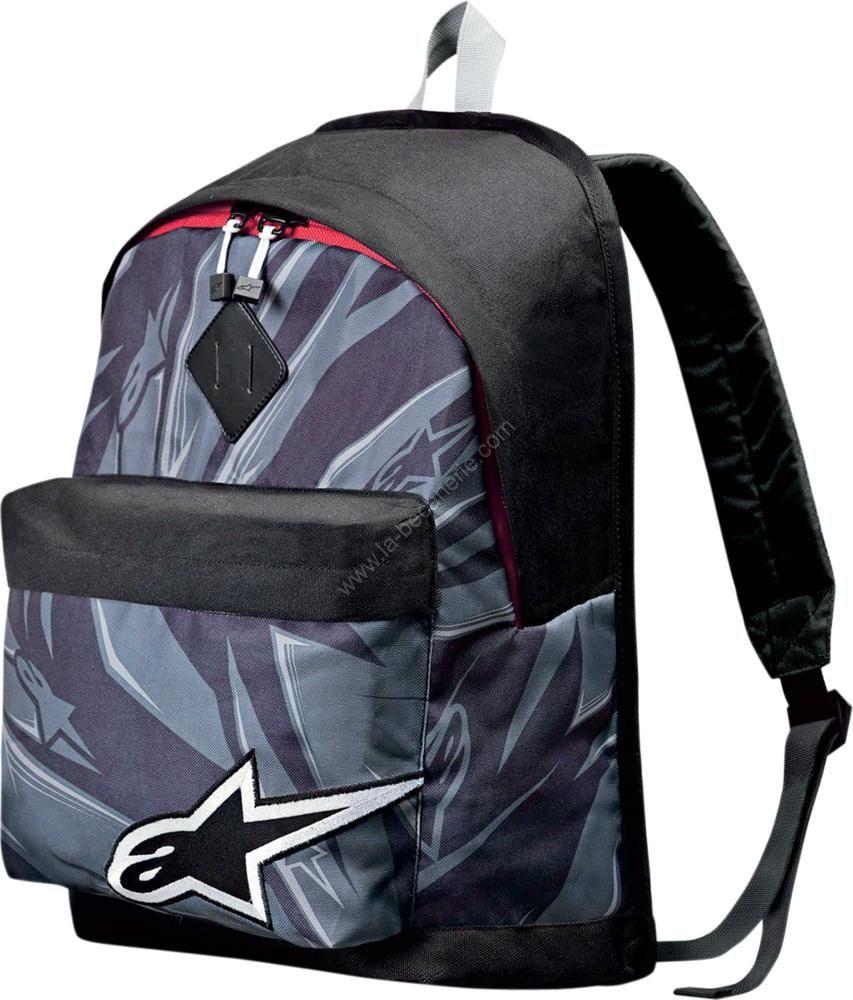 sac dos alpinestars starter gris sportswear sur la b canerie. Black Bedroom Furniture Sets. Home Design Ideas