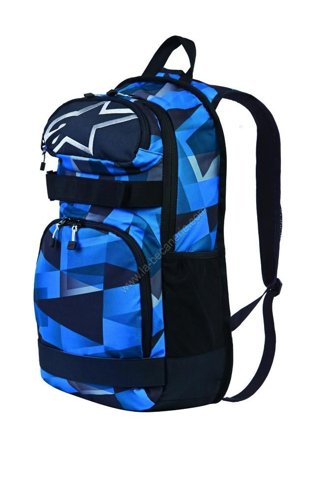sac dos alpinestars optimus mid bleu sportswear sur la b canerie. Black Bedroom Furniture Sets. Home Design Ideas