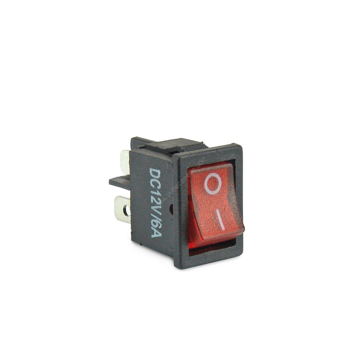 interrupteur encastrable voyant mirs pi ces electrique sur la b canerie. Black Bedroom Furniture Sets. Home Design Ideas
