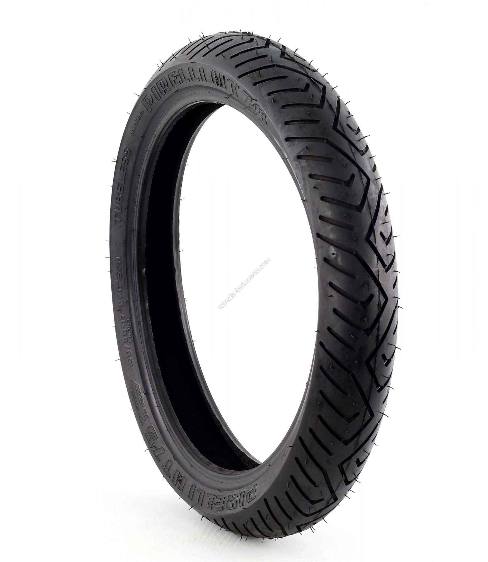 pneu pirelli mt75 scorpion 100 80 17 52h pi ces partie cycle sur la b canerie. Black Bedroom Furniture Sets. Home Design Ideas
