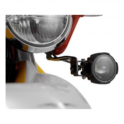 Supports pour feux additionnels SW-MOTECH noir Moto Guzzi V85 TT 19-20