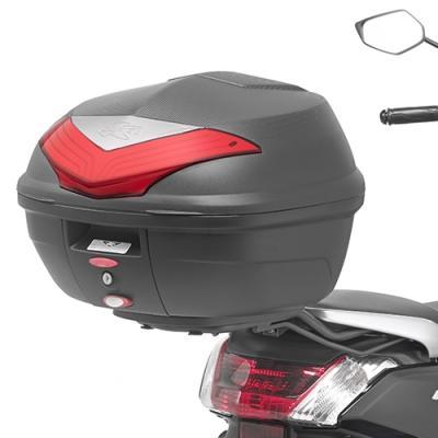 Support spécifique Kappa pour top case Monolock Yamaha 125 N Max 15-18