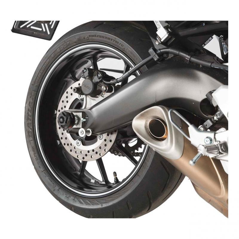 Protection de bras oscillant SW-MOTECH noir Yamaha MT-09 / Tracer, XSR 900