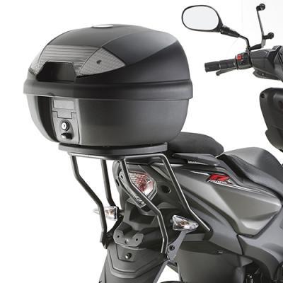 Support spécifique Kappa pour top case Monolock Yamaha R 50 Aerox 13-18