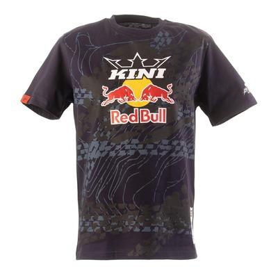 T-shirt Kini Red Bull Topography bleu nuit