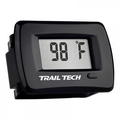 Thermomètre moteur Trail Tech TTO noir encastrable capteur durite Ø 19 mm