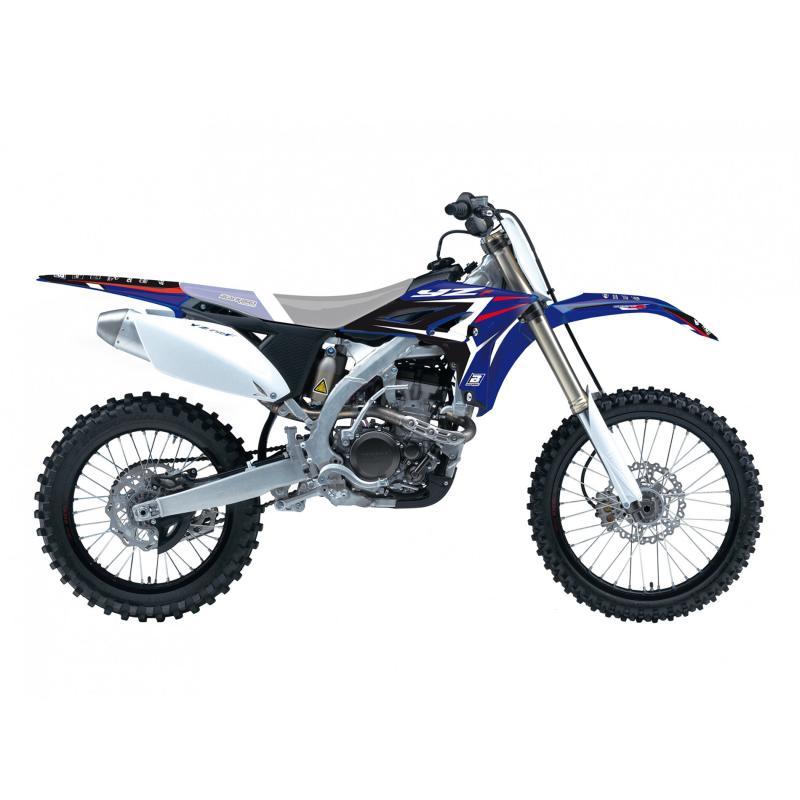 Kit déco Blackbird Racing Dream 4 Yamaha 250 YZ-F 10-13 bleu/blanc/noir/rouge