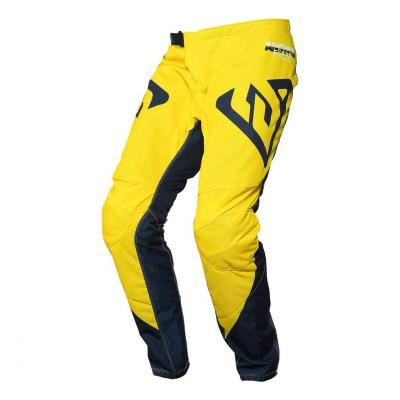 Pantalon cross Answer Syncron Pro Glow jaune/midnight/blanc