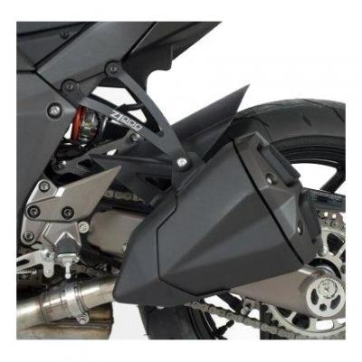 Pattes de fixation de silencieux R&G Racing noire Kawasaki Z 1000 SX 14-18