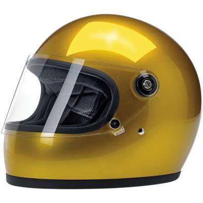 Casque intégral Biltwell Gringo S métallisé jaune