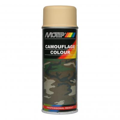 Bombe peinture Camouflage Beige mat RAL 1001 Motip 400 ml M04201
