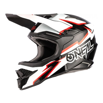 Casque cross O'Neal 3SRS Voltage noir/blanc
