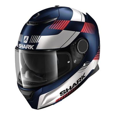 Casque intégral Shark Spartan 1.2 Strad Mat bleu/blanc/rouge