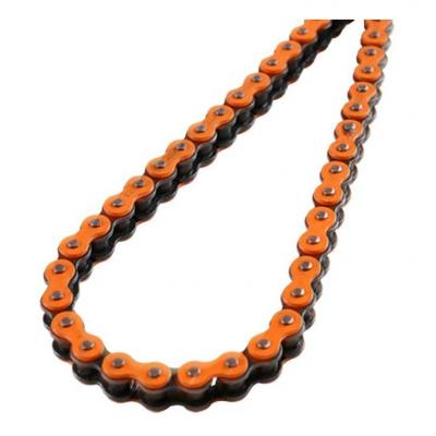Chaîne renforcée Doppler 138 maillons pas 428 orange