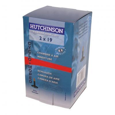 Chambre à air Hutchinson 19/2 - 19 Valve Standard Cyclo