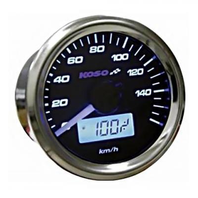 Compteur de vitesse Koso GP Style Ø 48 mm fond noir