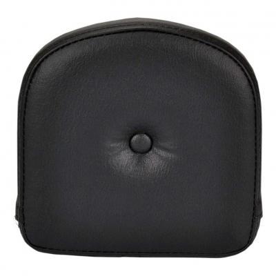 Coussin de sissybar Saddlemen carré noir avec bouton