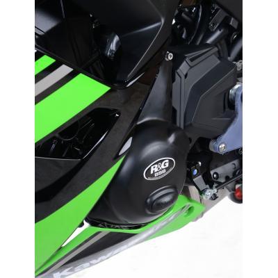 Couvre carter d'alternateur R&G Racing noir Race Serie Kawasaki Z650 17-18