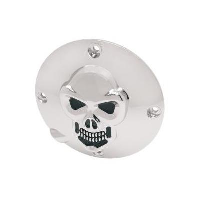 Derby cover Drag Specialties 3D skull Harley Davidson Sportster 94-03 chrome