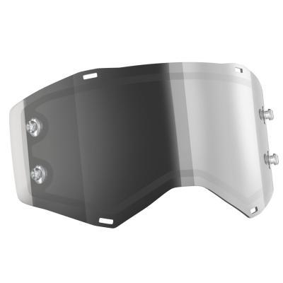 Écran double Works Scott pour masque Recoil et 80 Light Sensitive gris