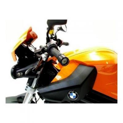 Embouts de guidon R&G Racing noir BMW F 800 R 09-18